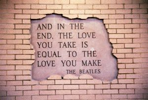 Take Action | Love | Beatles Lyrics